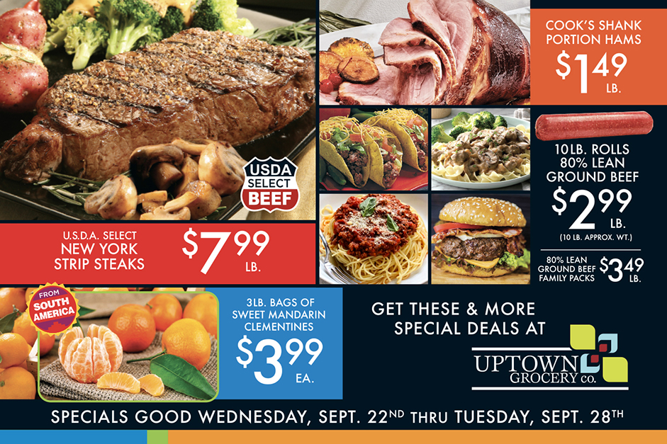 Early Fall Specials - Page 1