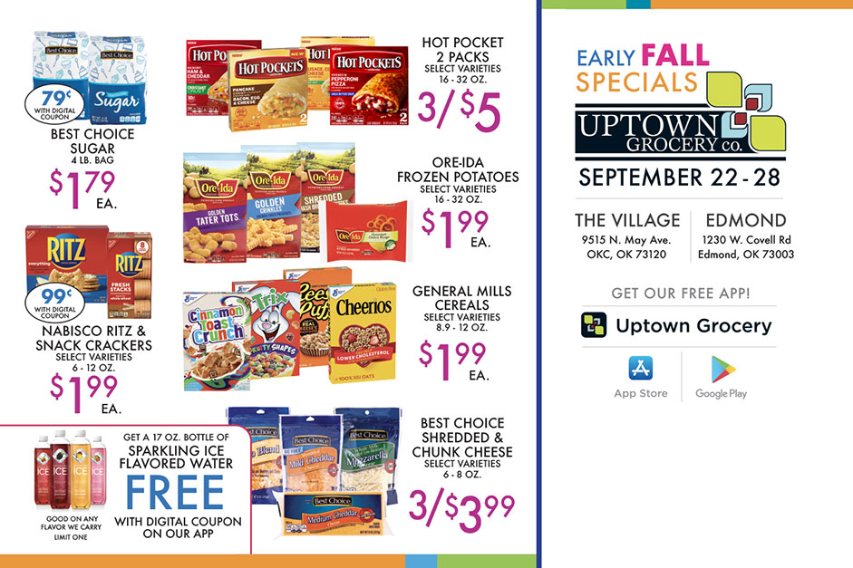 Early Fall Specials - Page 2